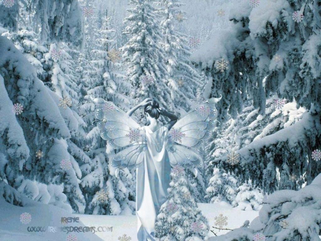 winter fairyland | winter fairy wallpaper - cynthia-selahblue