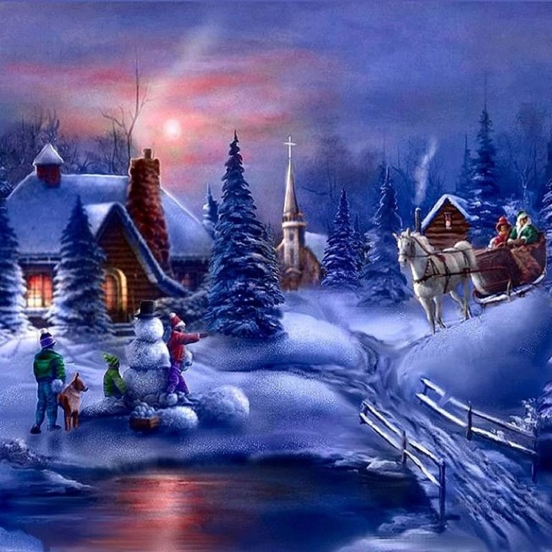 10 New Christmas Winter Scenes Wallpaper FULL HD 1080p For PC Background 2018 free download winter fun christmas winter scenes 800x800