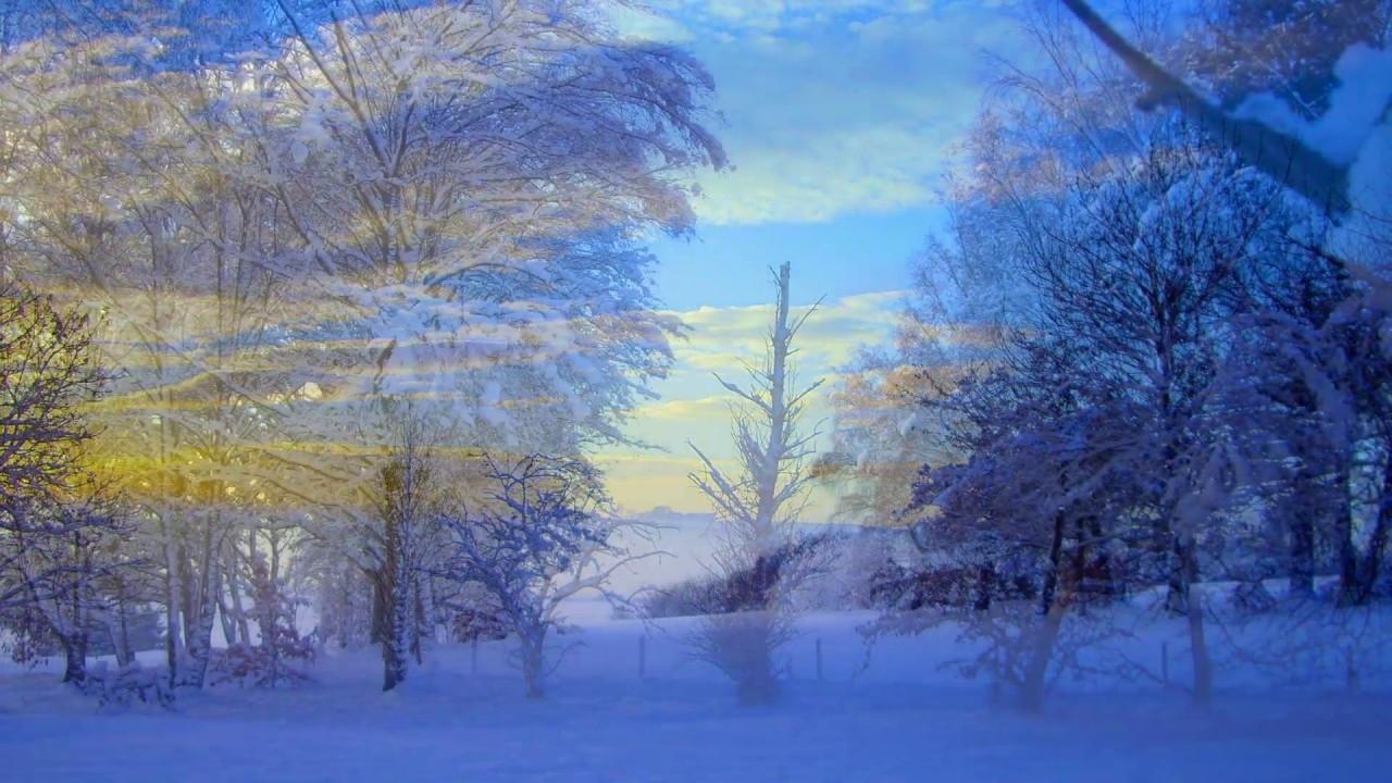 winter landscape snow scenes in scotland - youtube