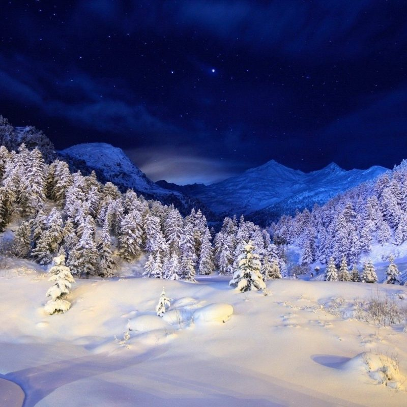 10 Top Romantic Winter Night Wallpaper FULL HD 1080p For PC Desktop 2018 free download winter night wallpapers group 88 800x800