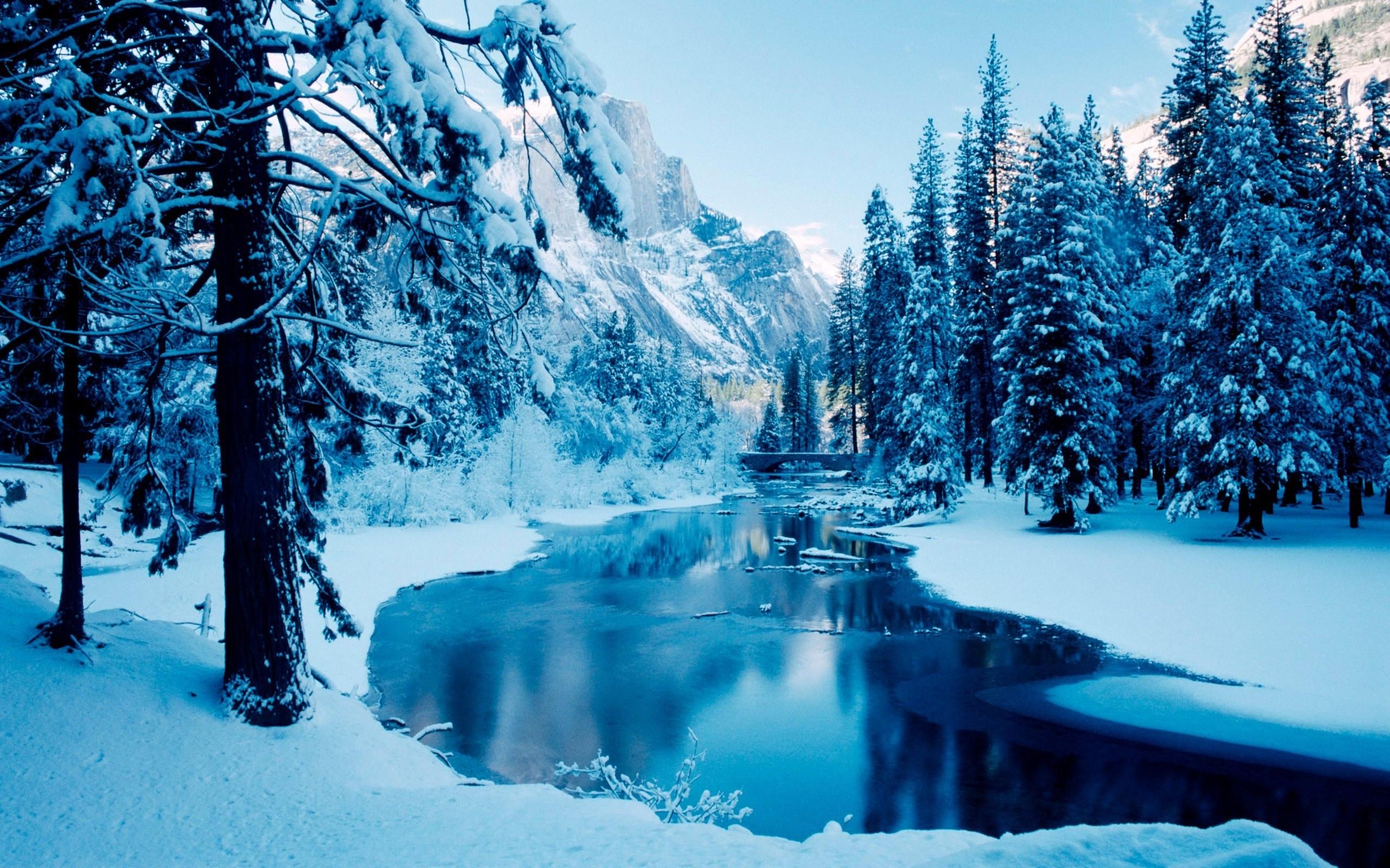 winter scene desktop background (56+ images)
