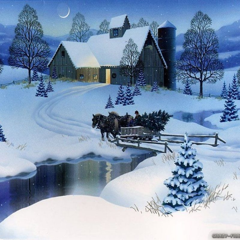 10 Most Popular Christmas Scenes Wallpaper Free FULL HD 1920×1080 For PC Desktop 2018 free download winter scene images of village scene winter christmas wallpapers 800x800