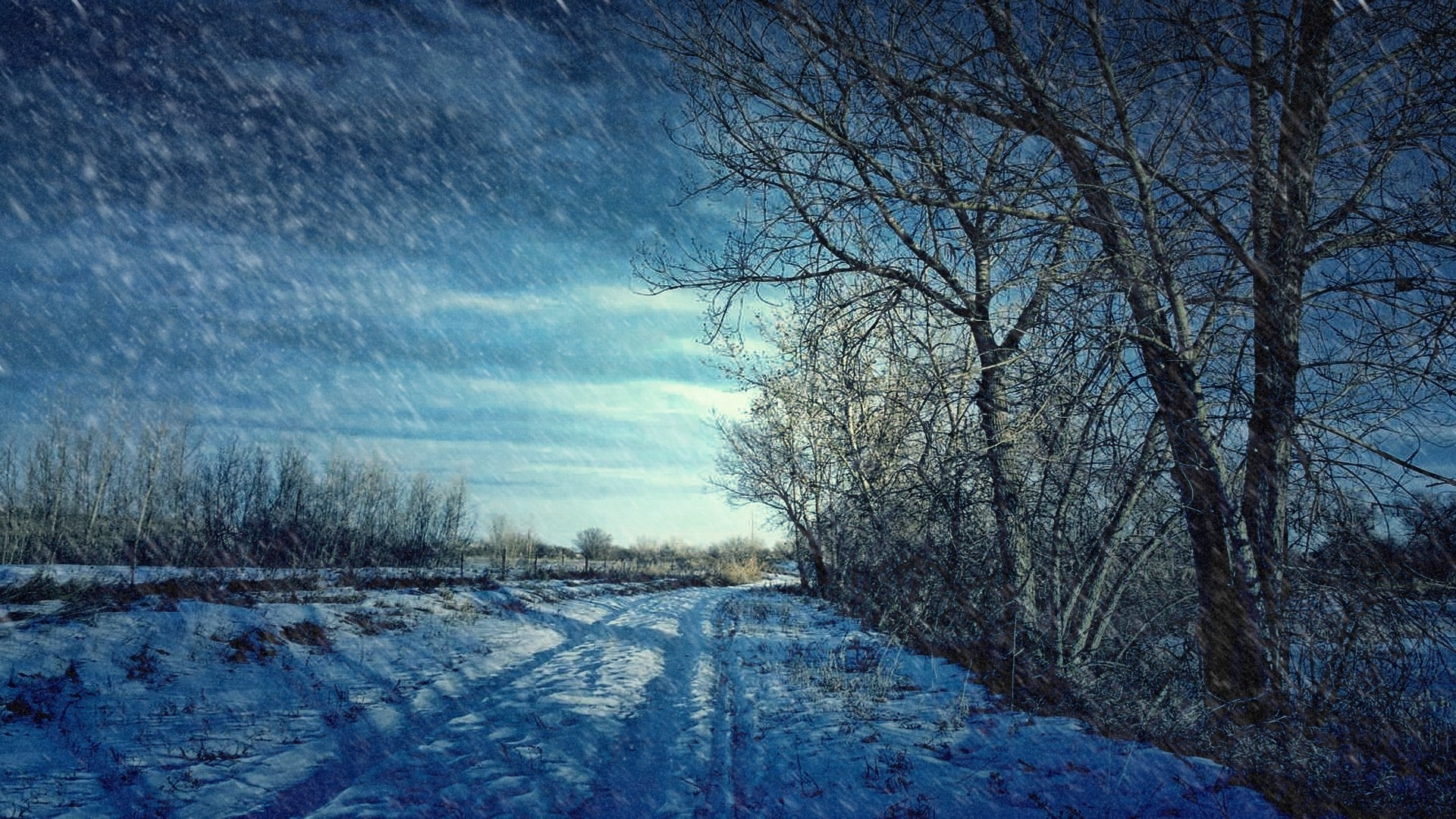 winter scenes screensavers free - walldevil