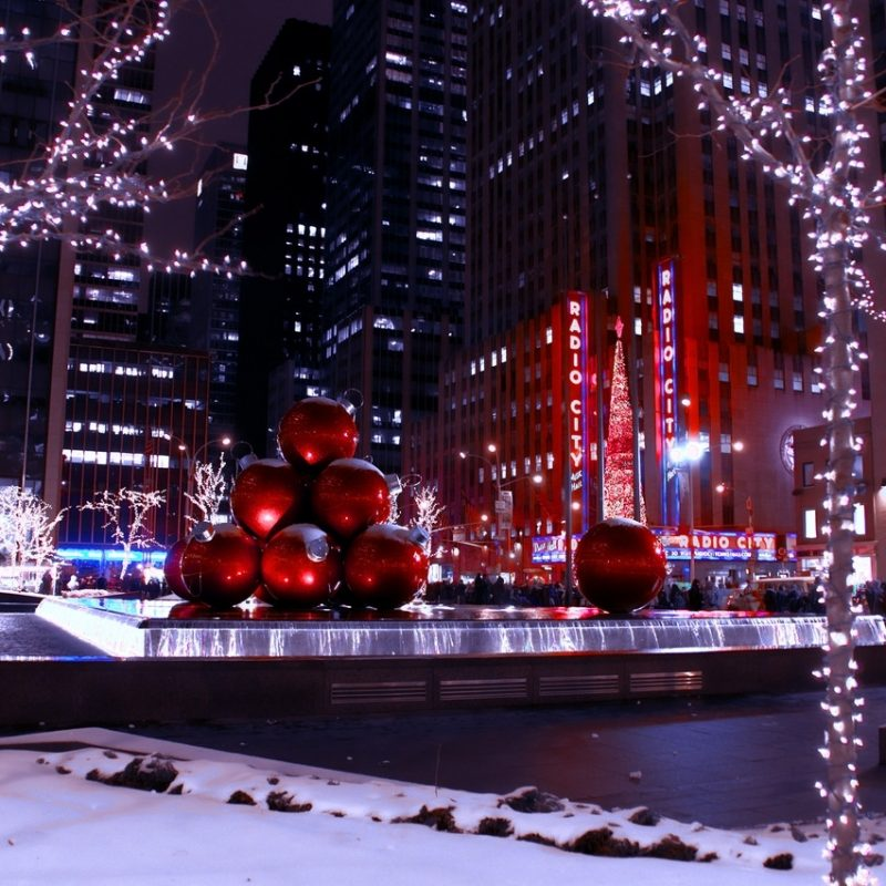 10 Most Popular New York City Christmas Wallpaper FULL HD 1920×1080 For PC Background 2018 free download %name