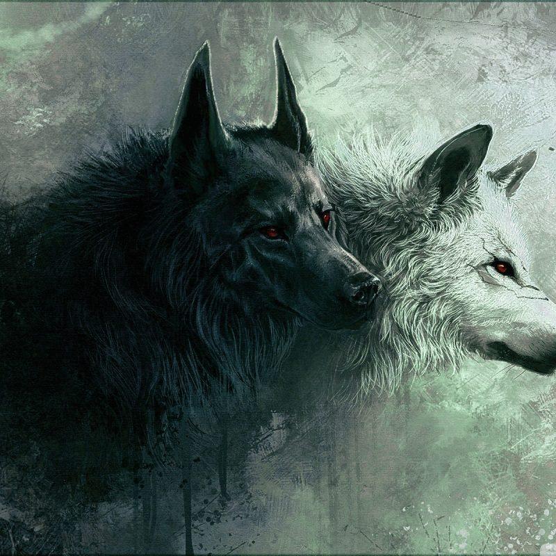 10 Best Black Wolf Wallpaper 1920x1080 Full Hd 19201080 For Pc