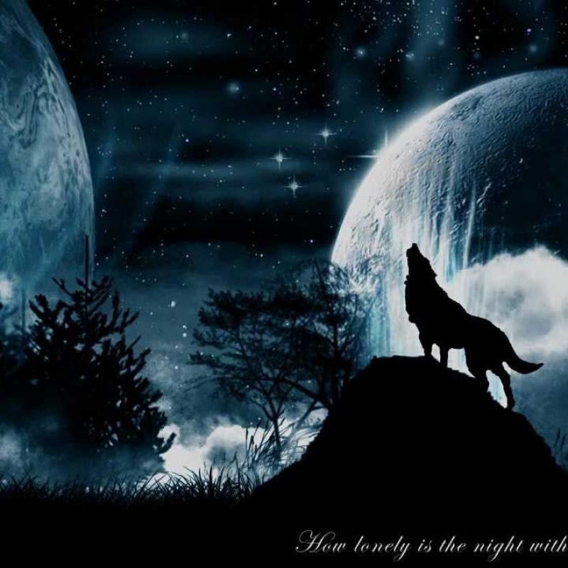 10 New Wolf Howling At The Moon Wallpaper Hd FULL HD 1080p For PC Background 2018