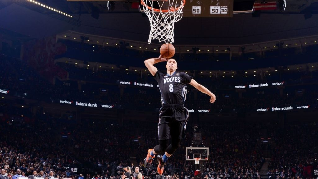 10 Most Popular Zach Lavine Dunk Wallpaper FULL HD 1080p For PC Background 2018 free download wolves zach lavine will not defend title at all star dunk contest 1024x576