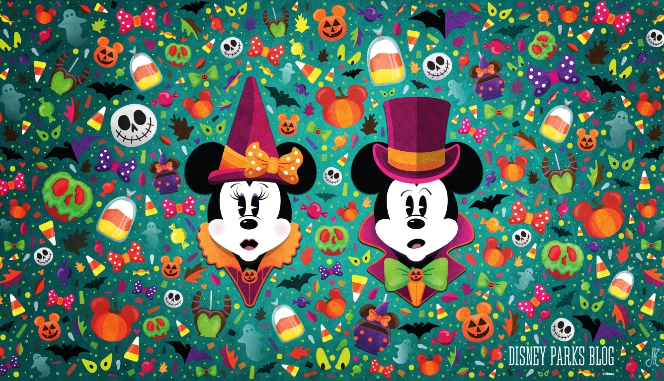 wonderfalldisney halloween wallpaper – desktop | disney parks blog