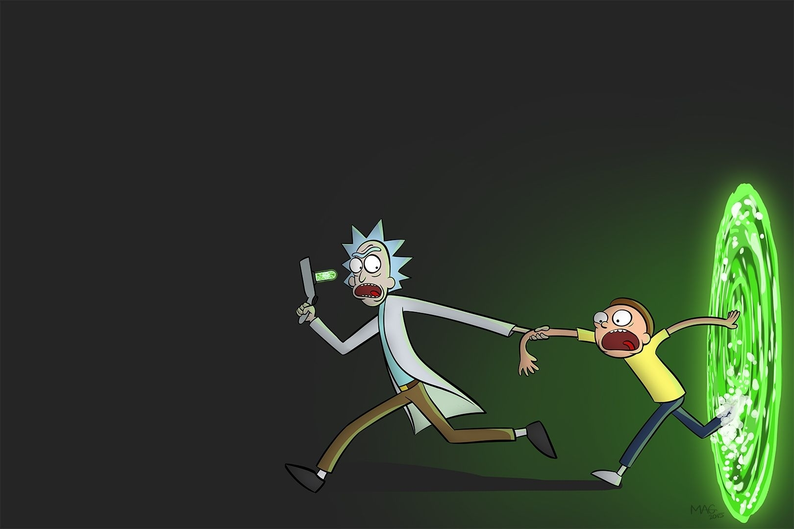 wonderful rick and morty wallpaper | rick and morty together forever