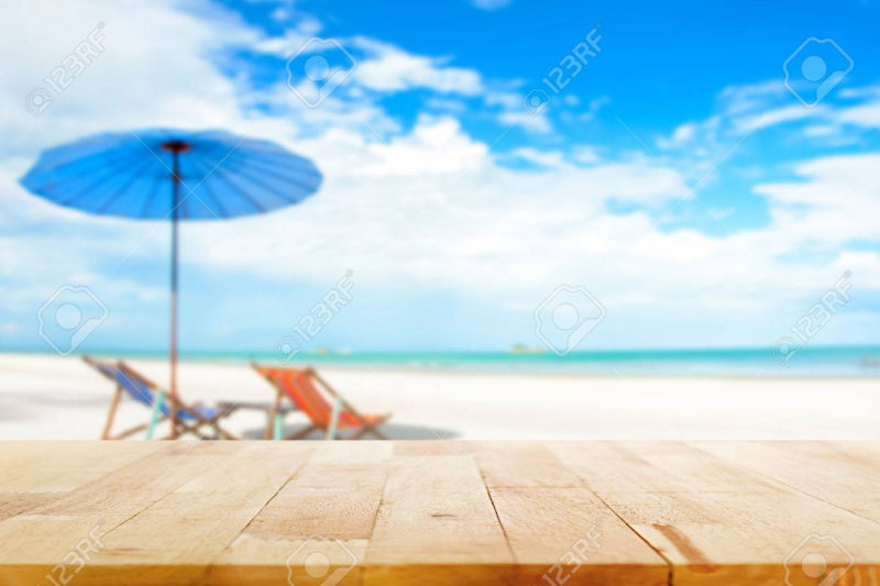 10 Best Beach Background Pictures FULL HD 1080p For PC Desktop 2020 free download wood table top on blur beach background with beach chairs and 800x533