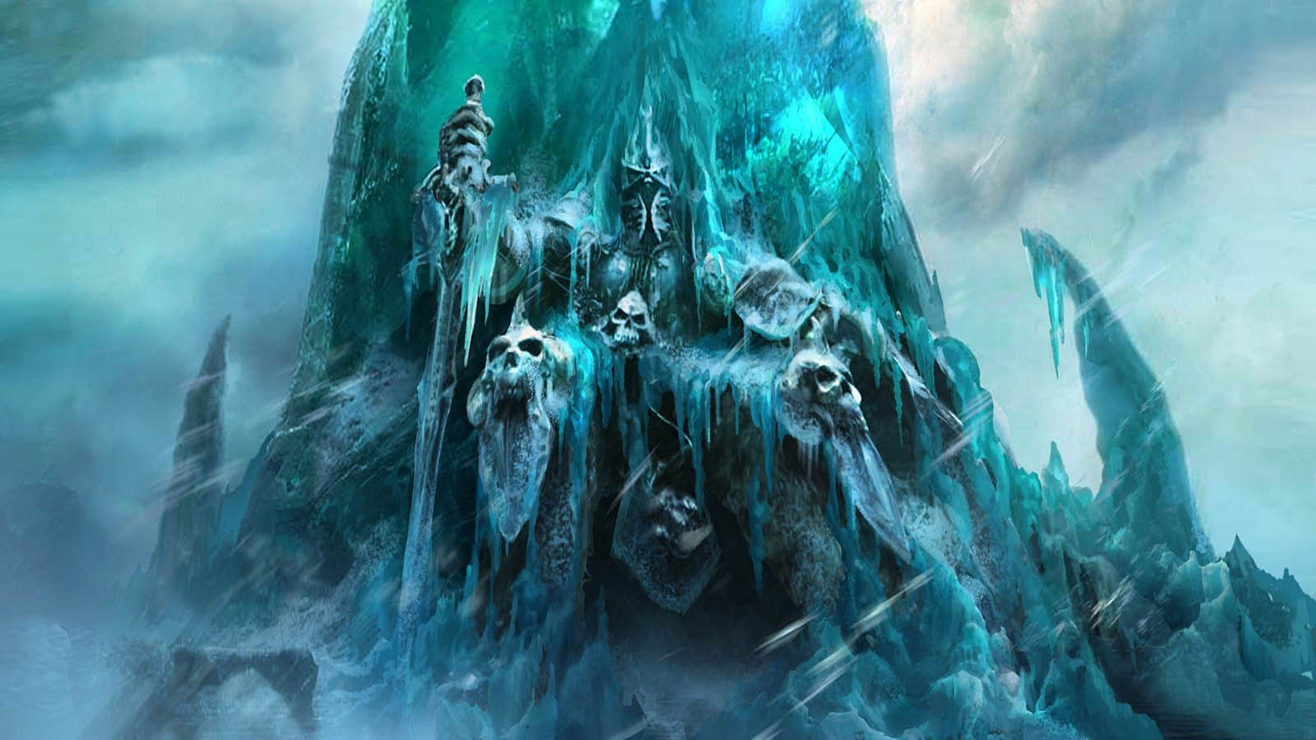 world of warcraft: rise of the lich king hd wallpaper | hintergrund