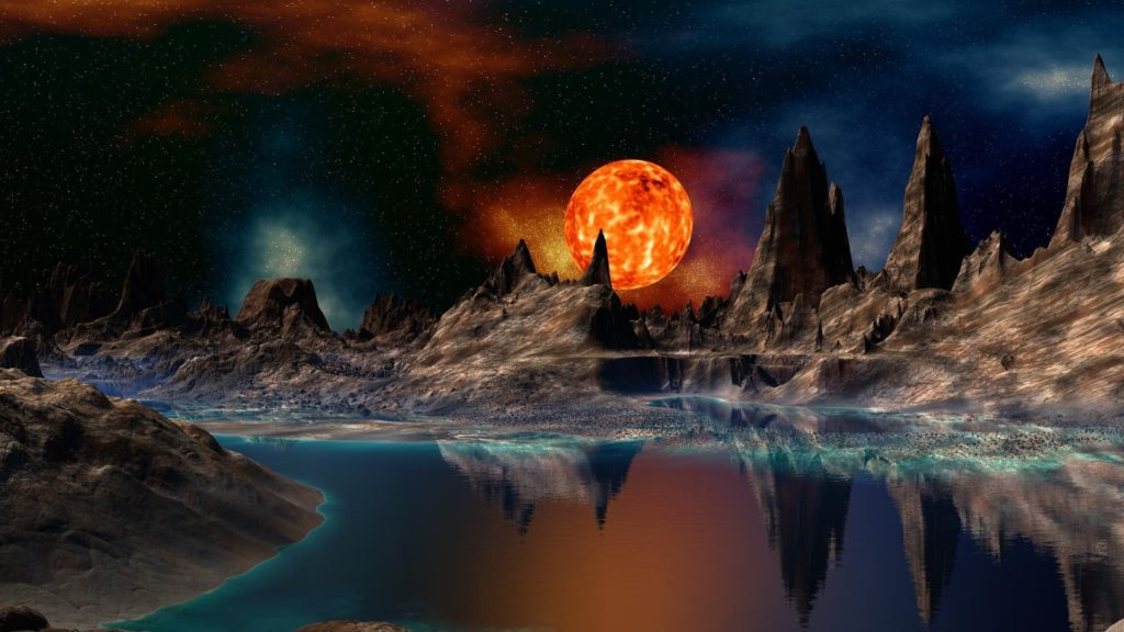 10 New Cool Sci Fi Backgrounds FULL HD 1920×1080 For PC Background 2021 free download worlds of doom in cosmic eternal changes of space and time 1024x576