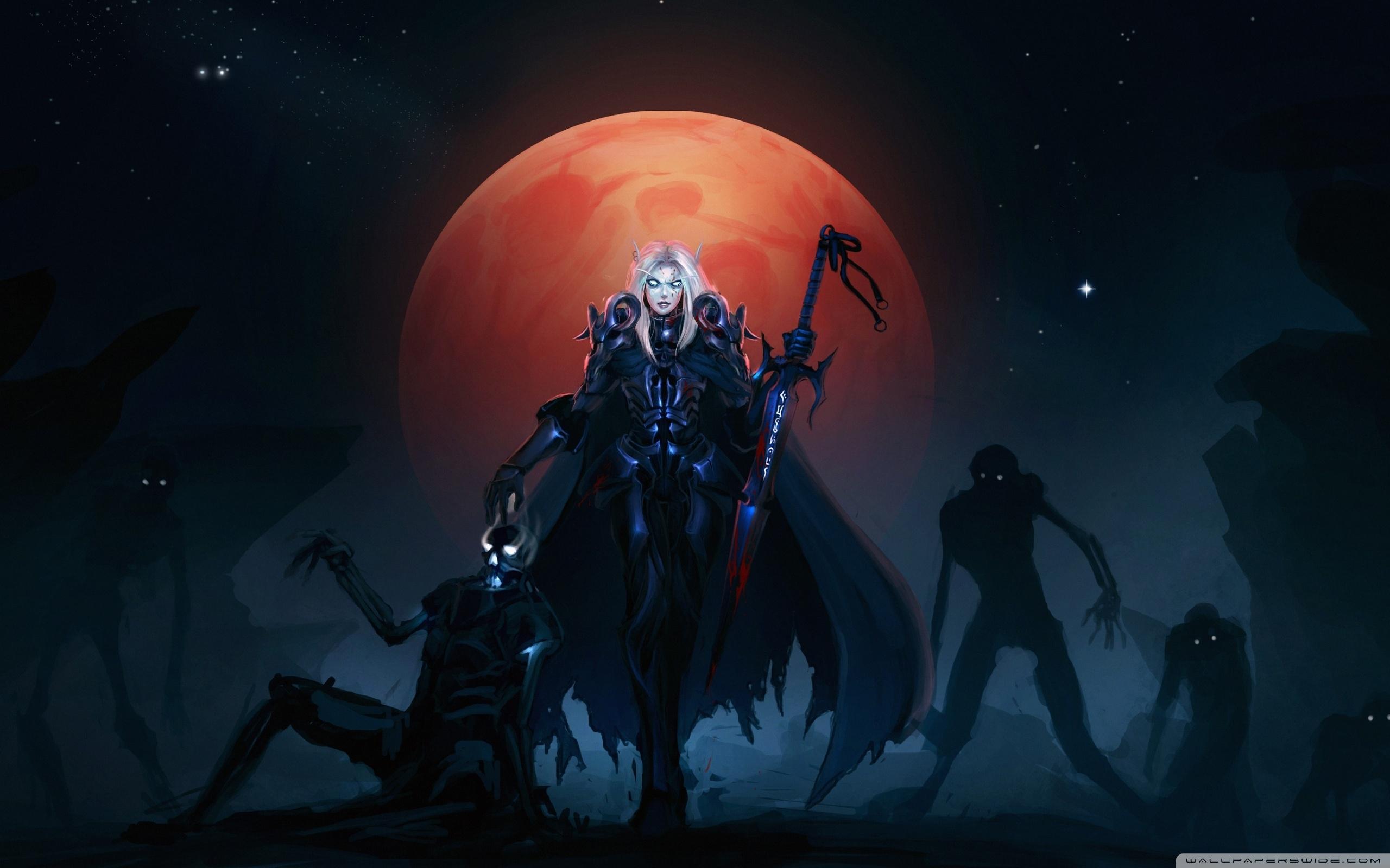 wow death knight blood elves ❤ 4k hd desktop wallpaper for 4k ultra