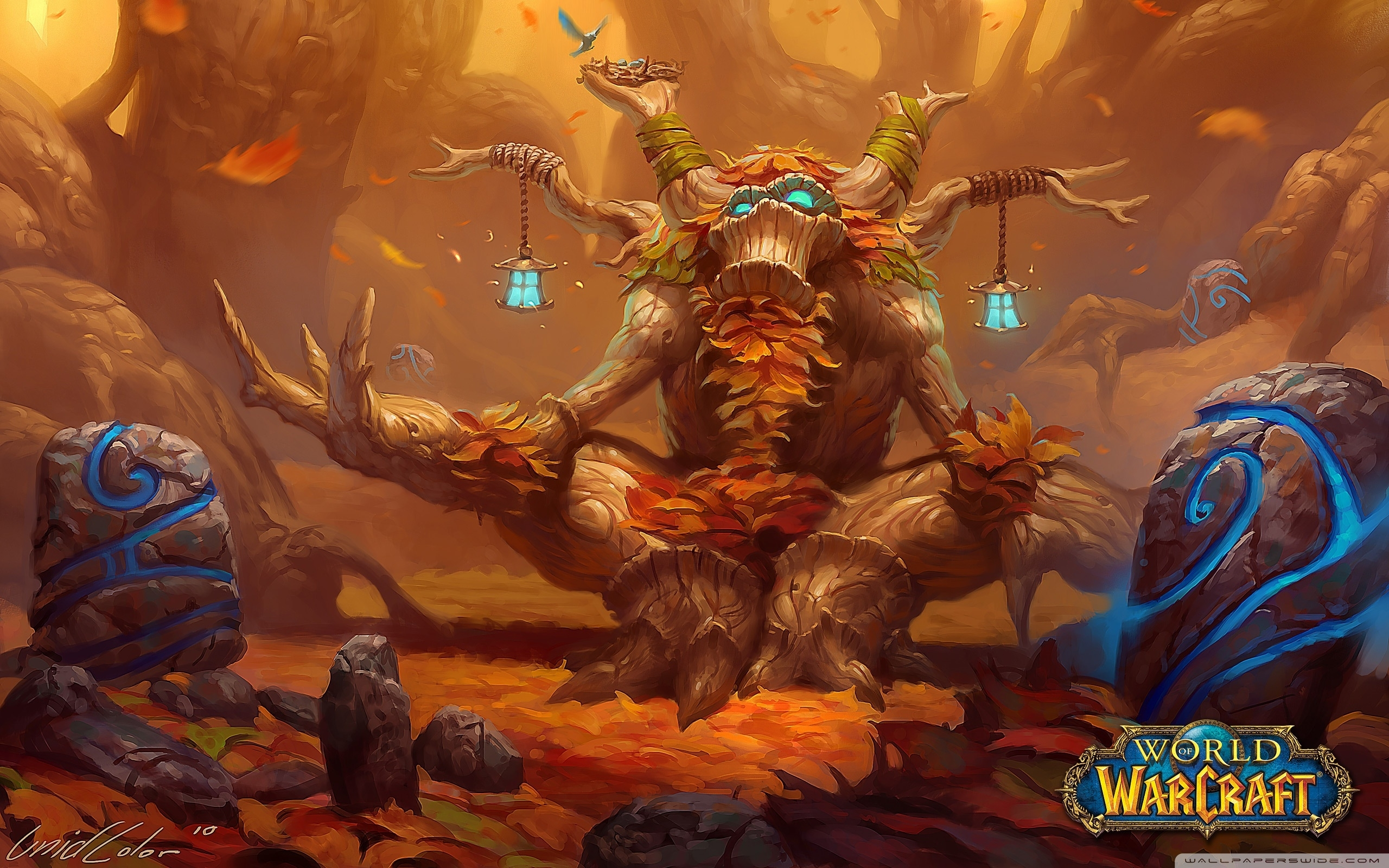 wow druid ❤ 4k hd desktop wallpaper for 4k ultra hd tv • tablet