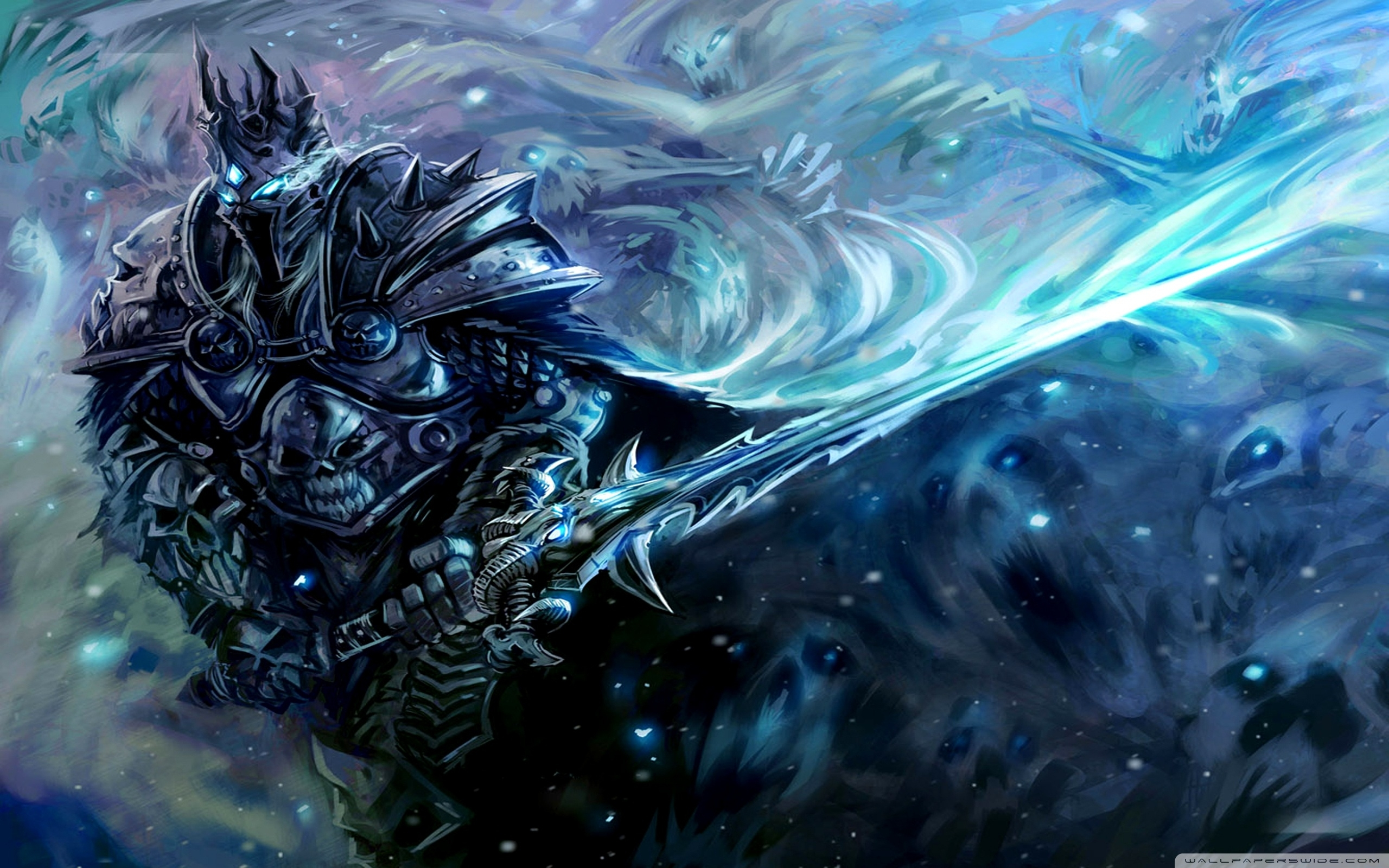 wow lich king ❤ 4k hd desktop wallpaper for 4k ultra hd tv • tablet