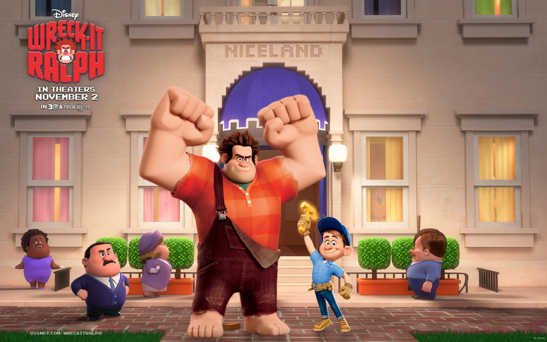 10 New Wreck It Ralph Wallpaper FULL HD 1920×1080 For PC Background