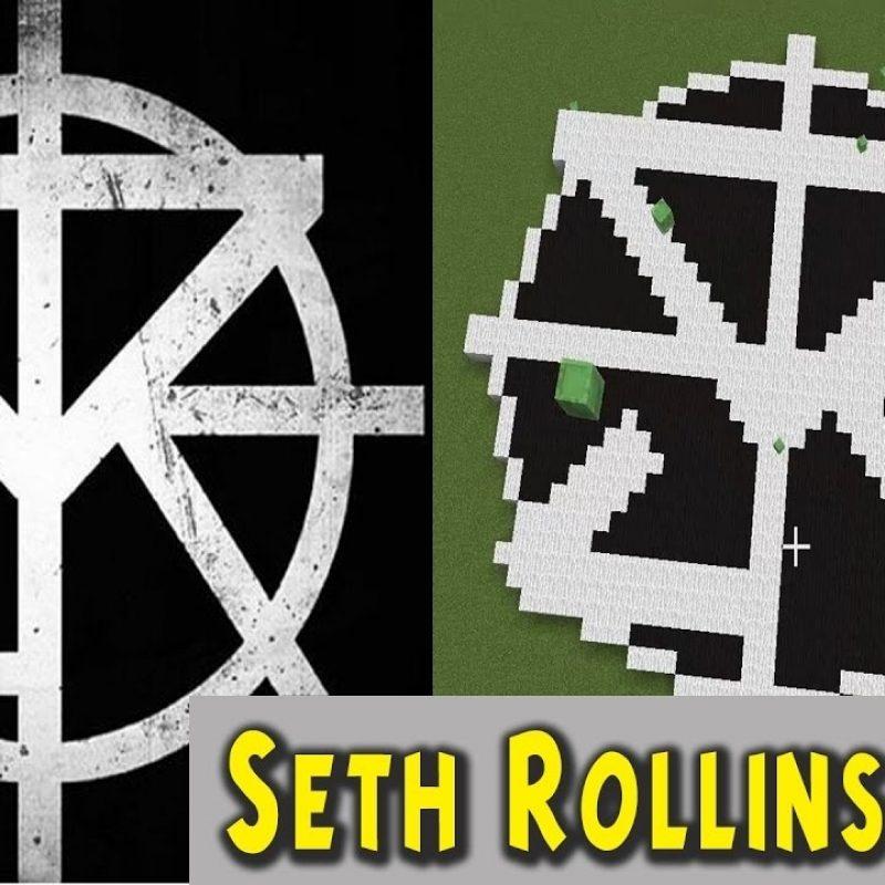 10 Best Wwe Seth Rollins Logo FULL HD 1920×1080 For PC Background 2018 free download wwe seth rollins minecraft logo youtube 800x800