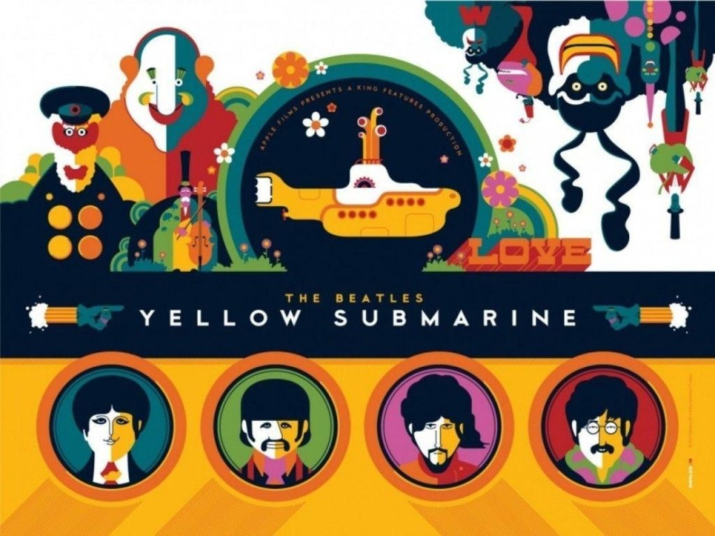 10 New The Beatles Yellow Submarine Wallpaper FULL HD 1080p For PC Desktop 2018 free download yellow submarine wallpapers wallpaper cave 1024x767