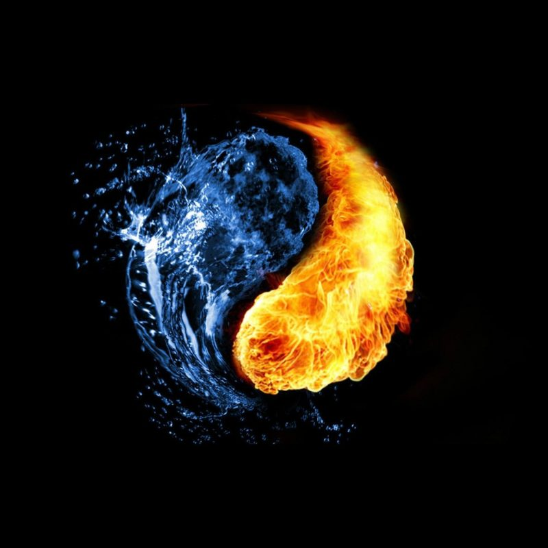10 New Fire And Water Wallpapers FULL HD 1920×1080 For PC Desktop 2018 free download yin yang water fire hd wallpaper new health 800x800