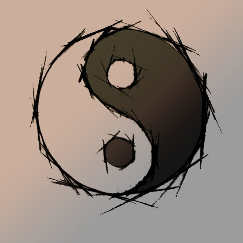 10 Best Awesome Yin Yang Wallpapers FULL HD 1080p For PC Background 2018 free download ying yang wallpaperwoochoo on deviantart 800x800