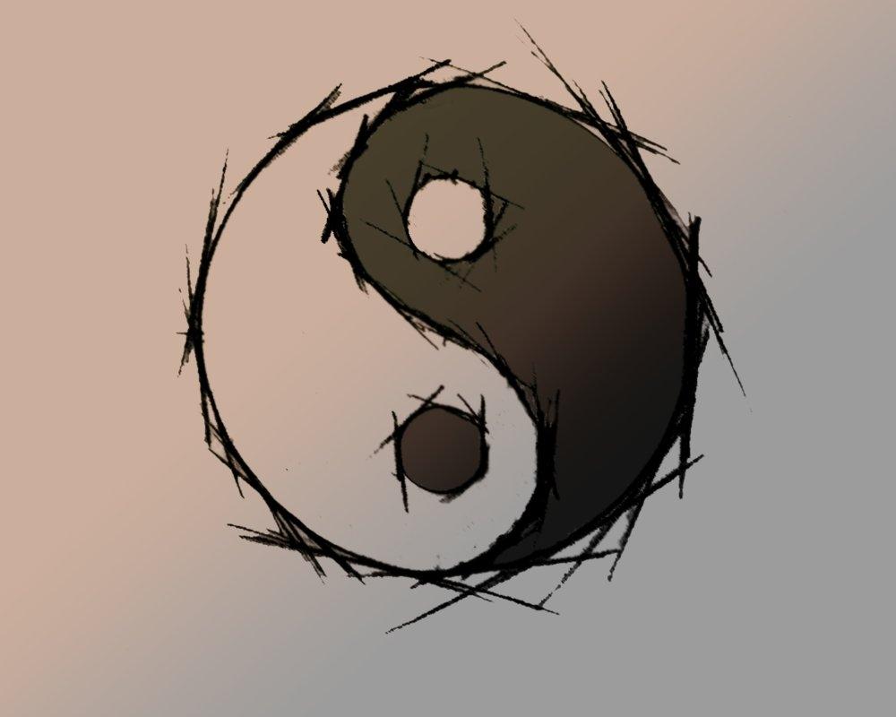 ying yang wallpaperwoochoo on deviantart
