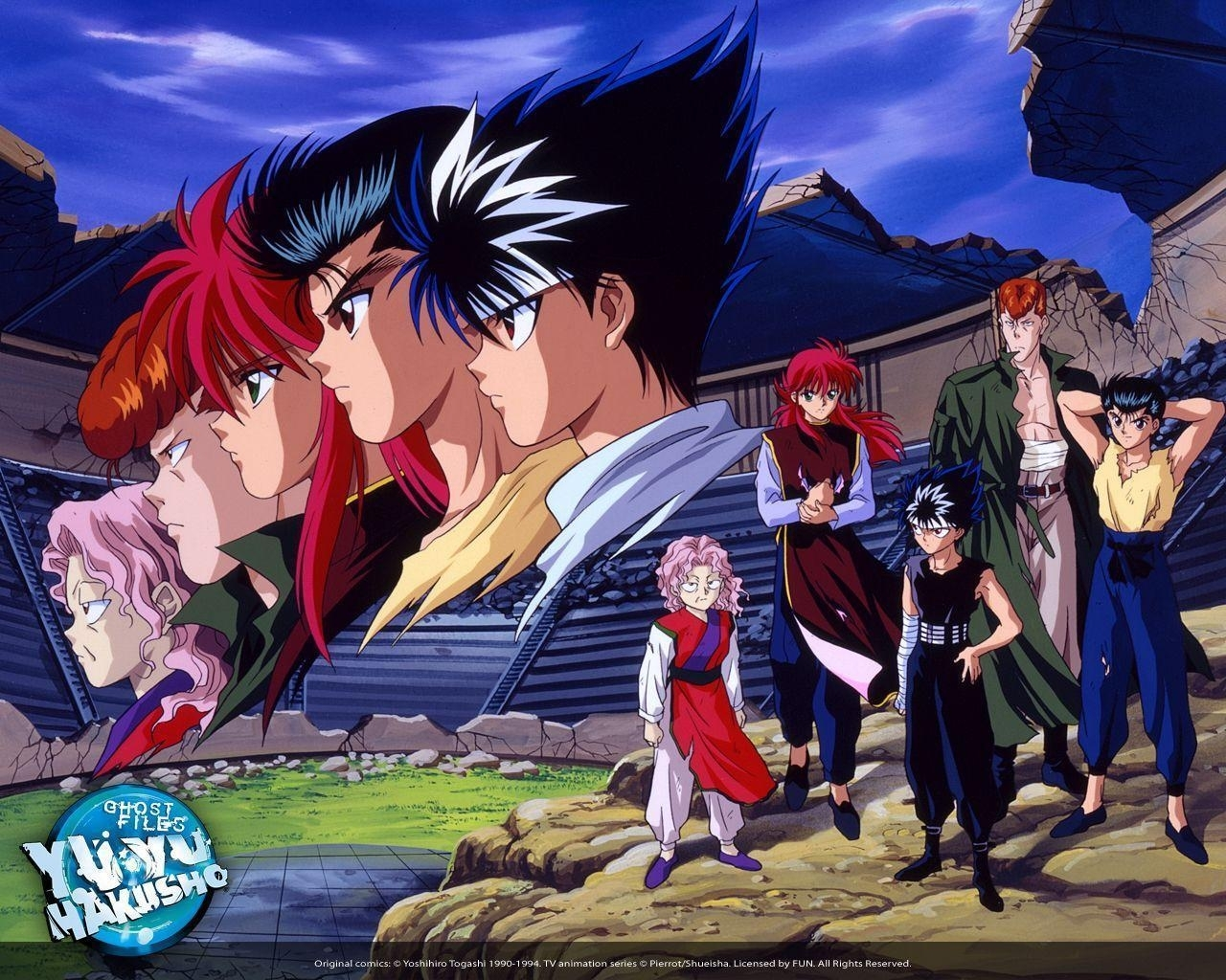 yu yu hakusho wallpapers - wallpaper cave